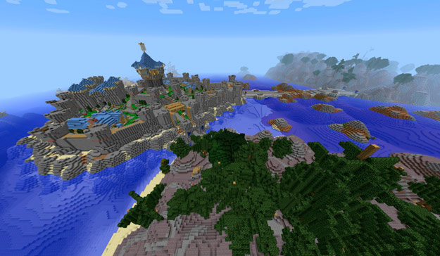 World of Warcraft entero en Minecraft