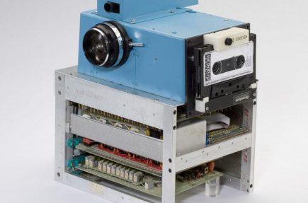 La primera cámara digital de la historia (1975)