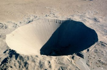 Sedan, el mayor cráter creado jamás por una explosión nuclear