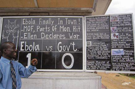 Alfred Sirleaf, el bloguero analógico de Monrovia