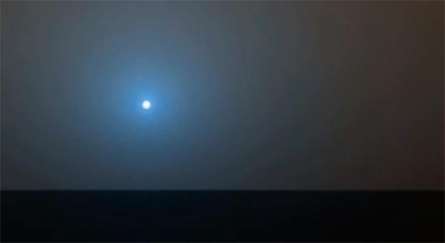 La NASA capta una embriagadora puesta de Sol en Marte