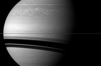 Saturno y Tetis