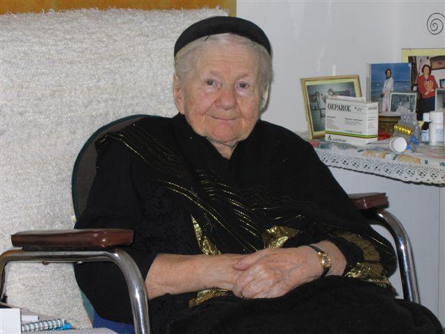 Irena Sendler, ya anciana