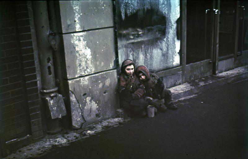 Niños en el Gueto de Varsovia