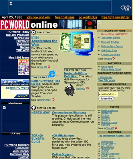 PC World en 1998