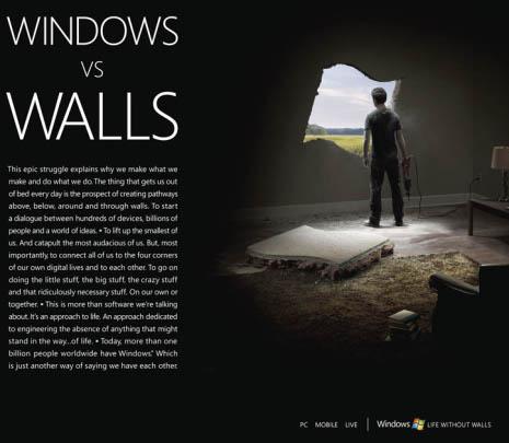 Anuncio de 'Life Without Walls'