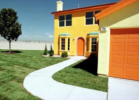 Construyen una réplica real de la casa de Los Simpson