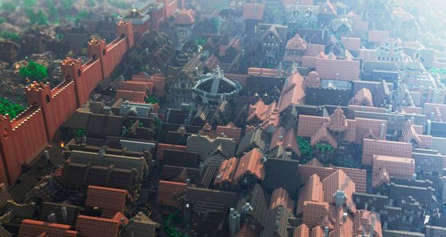 Desembarco del Rey en Minecraft