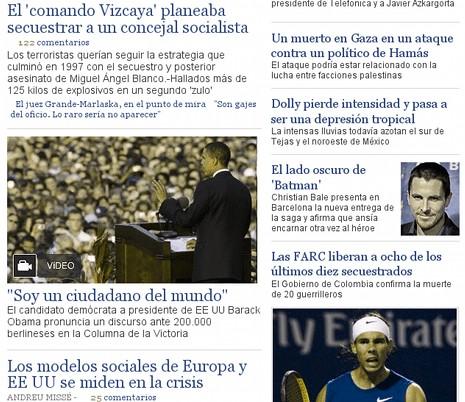 Así ven El País los daltónicos