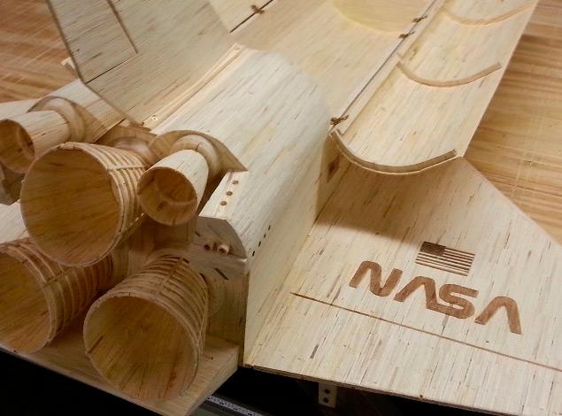 Réplica de la Estación Espacial Internacional creada con 282.000 palillos