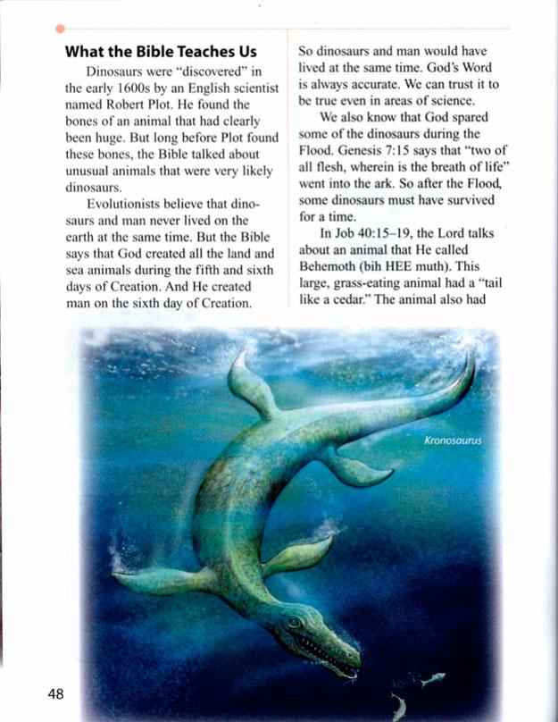 Esto es lo que enseñan en los colegios de Luisiana sobre la evolución y el creacionismo
