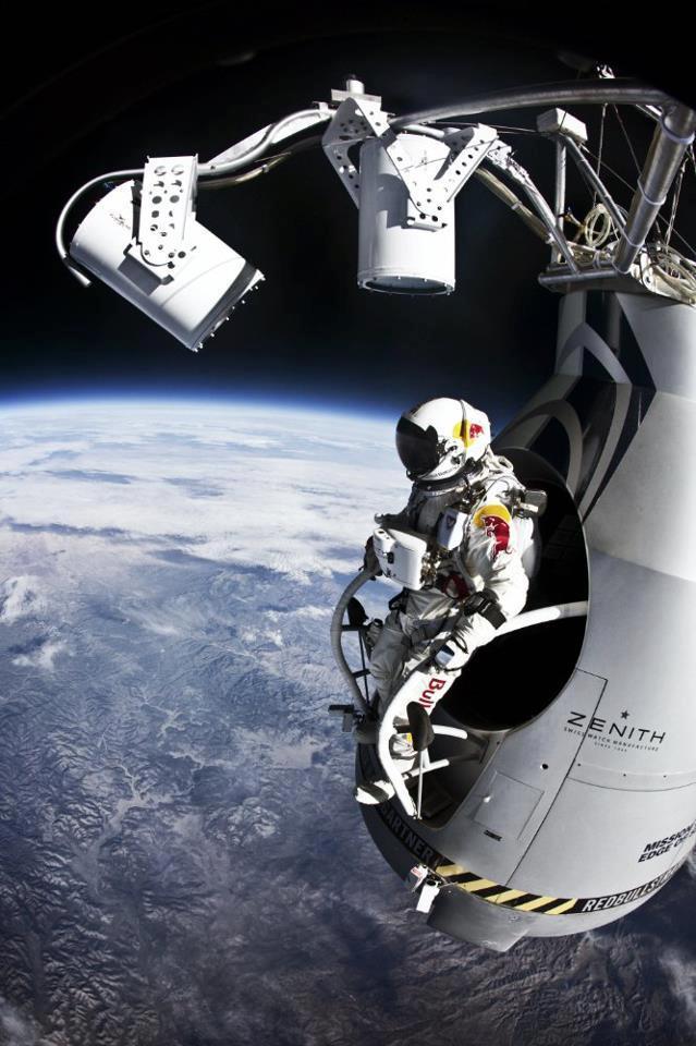 Salto de Felix Baumgartner desde la estratosfera