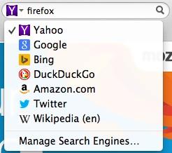 Yahoo es el nuevo buscador por defecto de Firefox