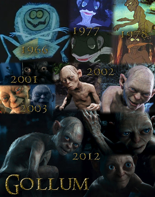 La evolución de Gollum