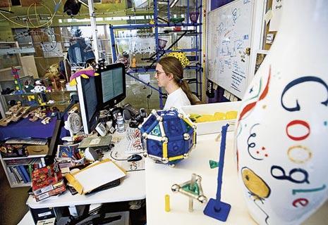 Las instalaciones de Google en Mountain View