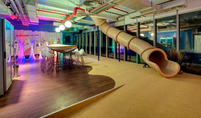 La increíble nueva sede de Google en Israel