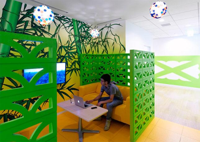 Las nuevas y espectaculares oficinas de Google en Tokio