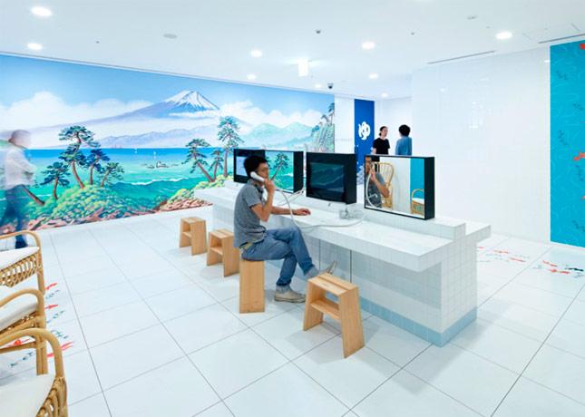 Las nuevas y espectaculares oficinas de google en tokio for Follando en las oficinas