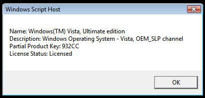 Hack que permite utilizar copias piratas de Windows Vista como si fueran originales