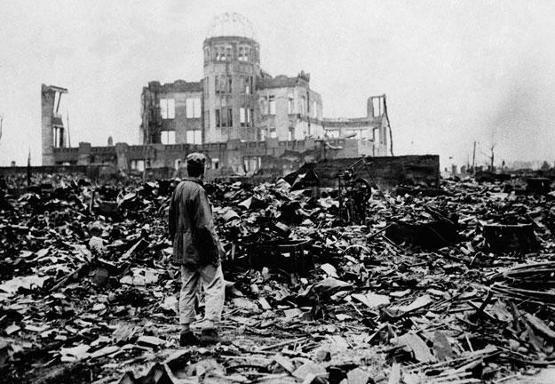 Hiroshima tras la explosión de la bomba atómica