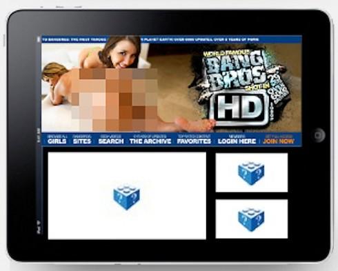 La gente que compre un iPad no podrá ver vídeos porno