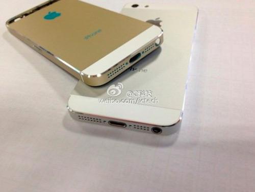 Filtradas supuestas fotografías del iPhone 5S y el iPhone Lite