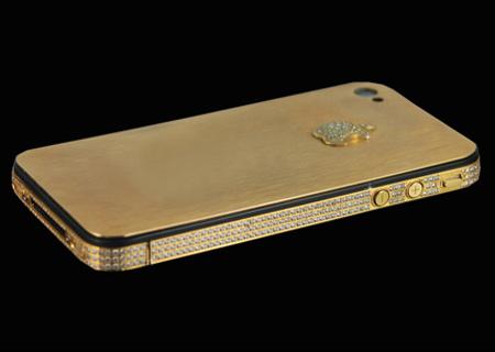 Un iPhone 4S de oro y diamantes de 7 millones de euros