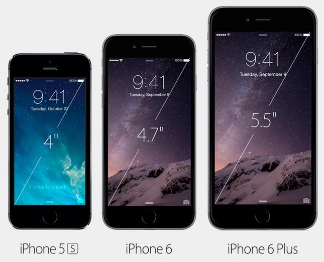 iPhone 6 Plus, el nuevo phablet de Apple
