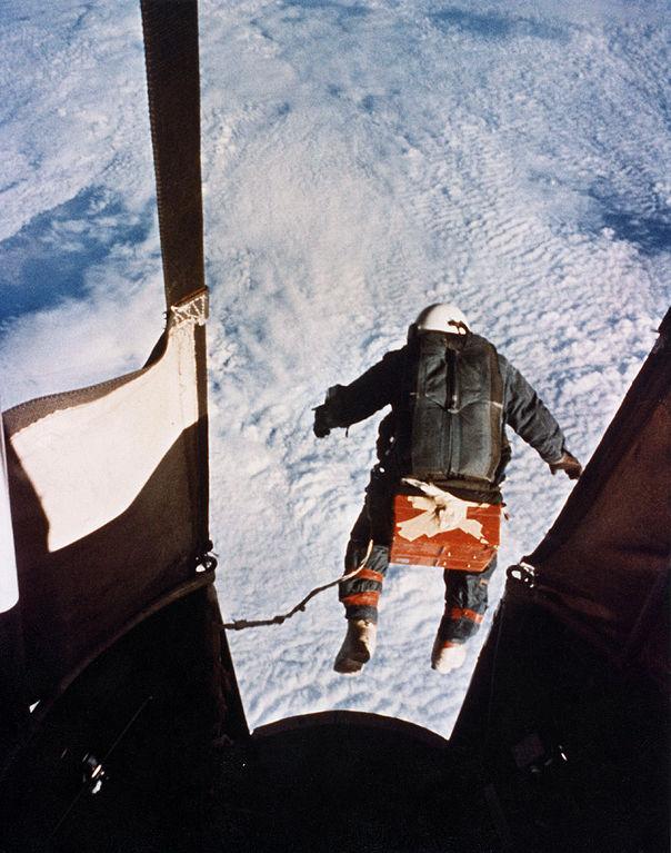 Salto de Joseph Kittinger desde la estratosfera