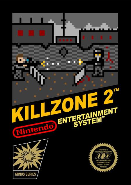Así se verían los videojuegos actuales si los lleváramos a la NES