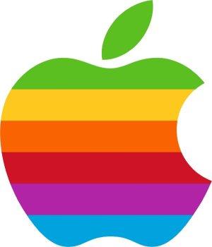 Logo de Apple desde 1976 hasta 1999