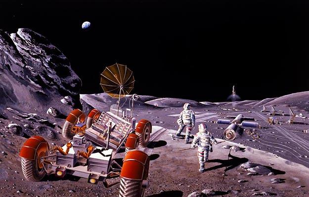 Colonización humana de la Luna