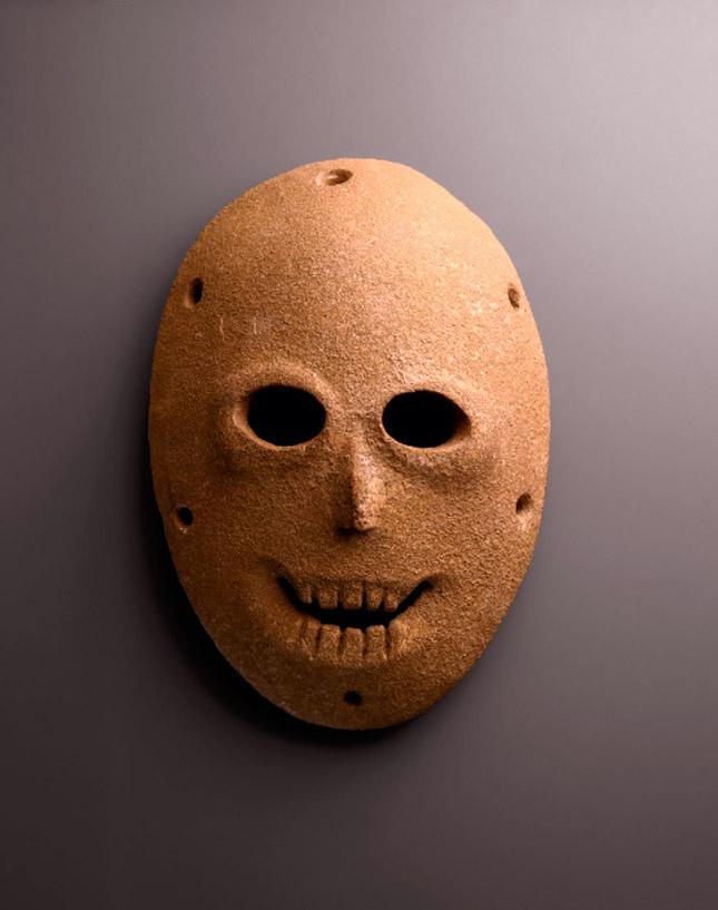 La máscara más antigua del mundo