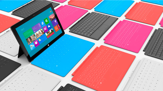 Teclados Touch Cover y Type Cover