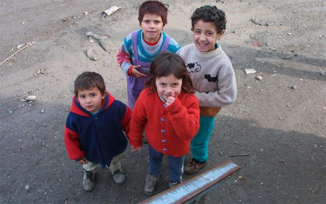 Niños romaníes
