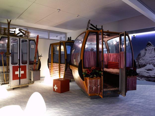 Las increíbles oficinas de Google en Zurich