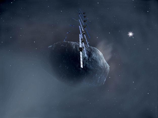 La sonda espacial Rosetta despertará de su largo sueño espacial el próximo lunes