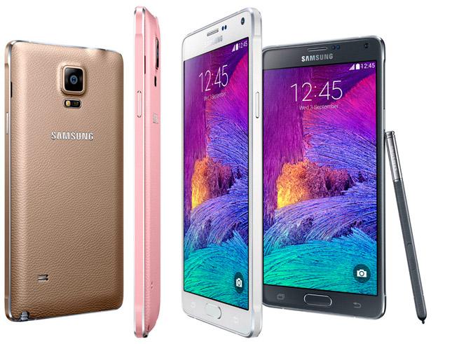 Samsung presenta el nuevo Galaxy Note 4