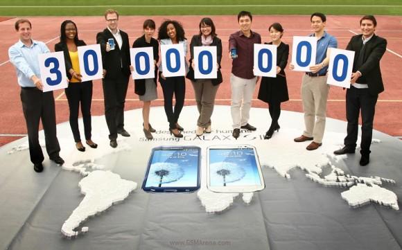 30 millones de Samsung Galaxy S III vendidos