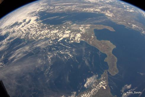 Viendo la Tierra desde la EEI