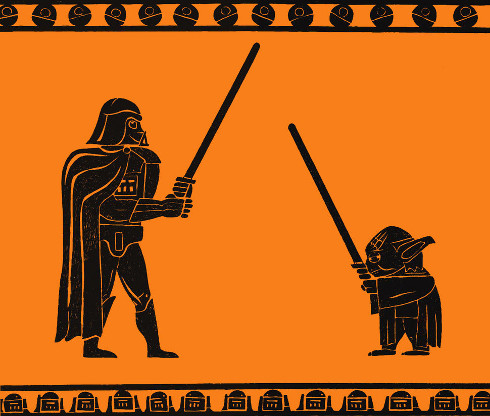 Star Wars en la Antigua Grecia