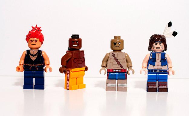 Personajes de Street Fighter en LEGO