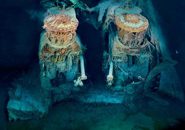 Los Motores Del Rms Titanic A 3 800 Metros De Profundidad Abadia