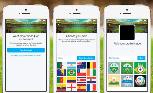 Twitter trae de vuelta los #hashflags a tiempo para el Mundial de Fútbol