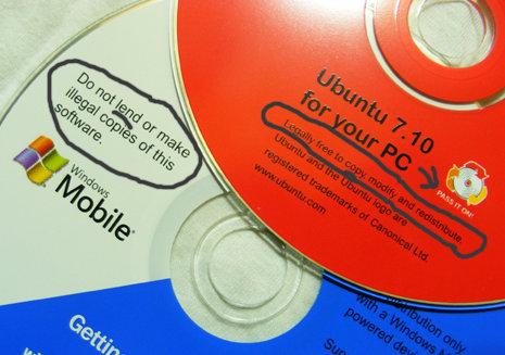 Sutil diferencia entre Windows y Ubuntu