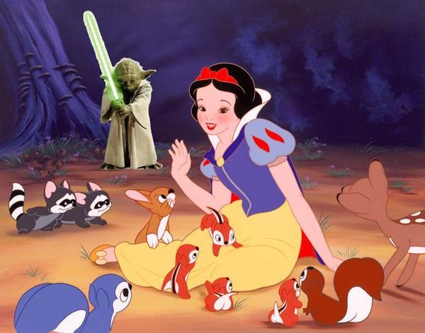 Yoda podría aparecer en una nueva versión de Blancanieves