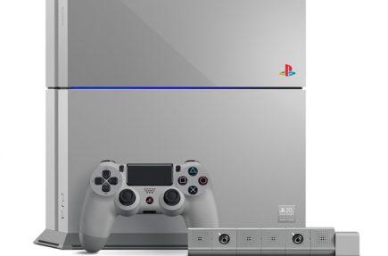 Sony lanza una PS4 gris en homenaje a la PS1