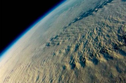 La Tierra desde 30.000 metros de altitud