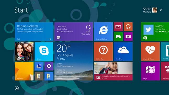 La cuota de mercado de Windows 8.x sigue creciendo a costa de Windows XP