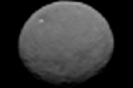 La sonda espacial Dawn envía las fotografías más nítidas sobre el planeta enano Ceres